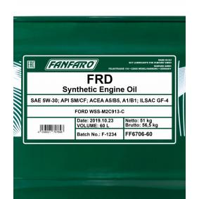 FANFARO Motoröl FF6706-60 Online Shop