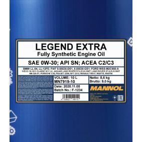 SAE-0W-30 Motoröl MANNOL MN7919-10 Online Shop