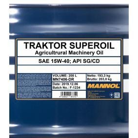 API SG Motoröl MANNOL MN7406-DR Online Shop