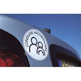 Varningsskylt för bilar från Carlinea – billigt pris