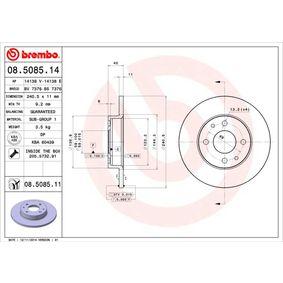 BREMBO FIAT PANDA Headlight lens (08.5085.14)