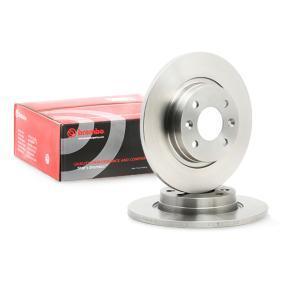 8200123117 für RENAULT, DACIA, RENAULT TRUCKS, Bremsscheibe BREMBO (08.A268.10) Online-Shop