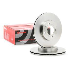 321615301D für VW, AUDI, FORD, FIAT, SKODA, Bremsscheibe BREMBO (09.5166.14) Online-Shop