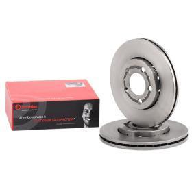 8Z0615301B für VW, AUDI, SKODA, SEAT, SMART, Bremsscheibe BREMBO (09.7011.14) Online-Shop
