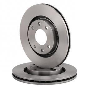 BREMBO Disco de freno Eje delantero, Ø: 266mm, Ventilación interna 8020584014035 evaluación