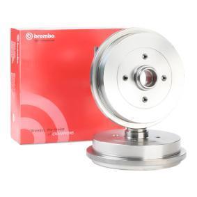 1H0501615A für VW, AUDI, FORD, SKODA, SEAT, Bremstrommel BREMBO (14.5826.10) Online-Shop