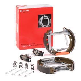 867698511AX für VW, AUDI, SKODA, SEAT, Bremsensatz, Trommelbremse BREMBO (K 85 011) Online-Shop