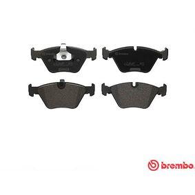 BREMBO Bremsbelagsatz, Scheibenbremse 34111163953 für BMW bestellen