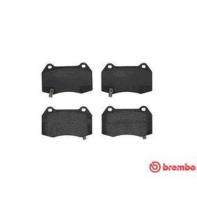 BREMBO Bremsbelagsatz, Scheibenbremse 25940439 für CHEVROLET, CHRYSLER, CADILLAC bestellen
