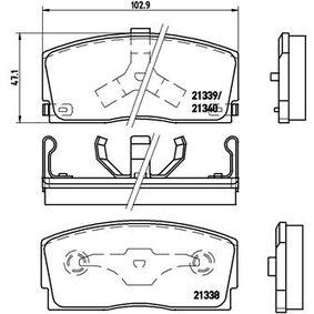 Pare-Choc pour DAIHATSU Charade III 3/5 portes (G100, G101