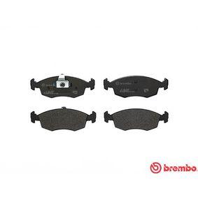 BREMBO Bremsbelagsatz, Scheibenbremse 9949125 für FIAT, SEAT, ALFA ROMEO, LANCIA bestellen