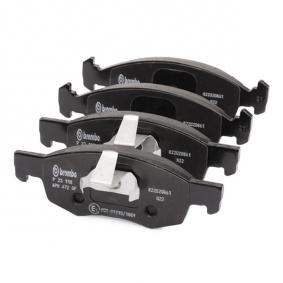 BREMBO Bremsbelagsatz, Scheibenbremse 9948870 für FIAT, ALFA ROMEO, LANCIA bestellen
