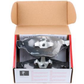 BREMBO комплект спирачно феродо, дискови спирачки 8020584052334