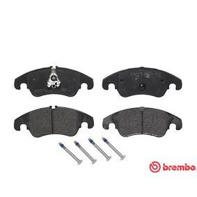 BREMBO Bremsbelagsatz, Scheibenbremse 1567730 für VW, FORD bestellen