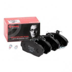 GBP90313 за SKODA, ROVER, MG, Комплект спирачно феродо, дискови спирачки BREMBO (P 28 020) Онлайн магазин