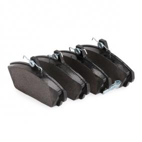 BREMBO Комплект спирачно феродо, дискови спирачки (P 28 020) на ниска цена