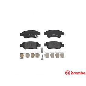 Pastillas de freno BREMBO (P 28 046) para HONDA CR-V precios