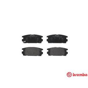 BREMBO Bremsbelagsatz, Scheibenbremse 58302H1A00 für TOYOTA, HYUNDAI, KIA bestellen