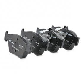 BREMBO Bremsbelagsatz, Scheibenbremse A0024204420 für MERCEDES-BENZ, MITSUBISHI, DAIMLER bestellen