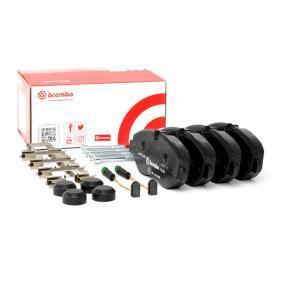 2E0698151 für VW, MERCEDES-BENZ, AUDI, SKODA, SEAT, Bremsbelagsatz, Scheibenbremse BREMBO (P 50 085) Online-Shop