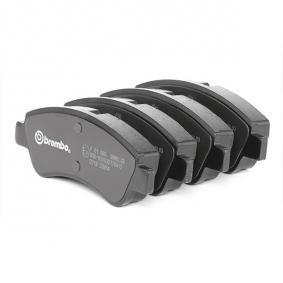 BREMBO P 61 066 Brake Pad Set, disc brake OEM - 1613192280 CITROËN, PEUGEOT, PIAGGIO, HELLA, CITROËN/PEUGEOT, GLASER, SCT Germany, DS cheaply