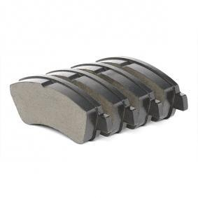 BREMBO Brake Pad Set, disc brake (P 61 066) at low price