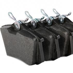 Brake Pad Set, disc brake Rear Axle, Front Axle from manufacturer BREMBO P 85 020 up to - 70% off!