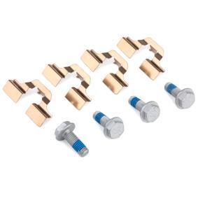 BREMBO P 85 020 Jogo de pastilhas para travão de disco OEM - 1H0615415 AUDI, SEAT, SKODA, VW, VAG, JEEP, STARK económica