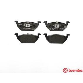 BREMBO Brake Pad Set, disc brake Front Axle Art. Nr P 85 041 advantageously