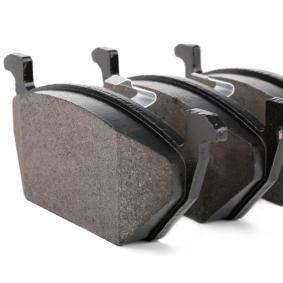 BREMBO Bremsbelagsatz, Scheibenbremse Vorderachse Artikelnummer P 85 072 Preise