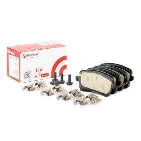 8K0698451C für VW, AUDI, SKODA, SEAT, Bremsbelagsatz, Scheibenbremse BREMBO (P 85 099) Online-Shop