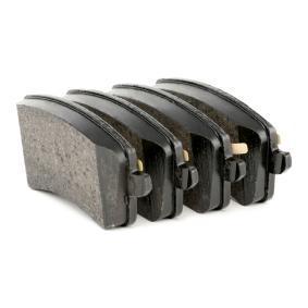 BREMBO P 85 099 Bremsbelagsatz, Scheibenbremse OEM - 8K0698451C AUDI, SEAT, SKODA, VW, VAG, TEXTAR, METELLI, MEYLE, BRINK, AUDI (FAW) günstig