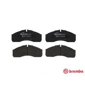 BREMBO Bremsbelagsatz, Scheibenbremse 5001844748 für VW, RENAULT, NISSAN, IVECO, MAN bestellen