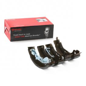 PUNTO (188) BREMBO Drum brake shoe support pads S 23 521