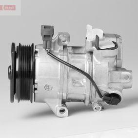 DENSO Kompressor, Klimaanlage mit Mehrfachriemenscheibe OE DCP45003 in Original Qualität