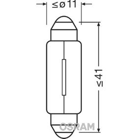 OSRAM Iluminación del panel de instrumentos 6411