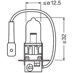Крушка за фар за мъгла 64151-01B OSRAM