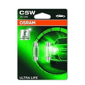 25 Хечбек (RF) OSRAM Светлини на регистрационния номер 6418ULT-02B
