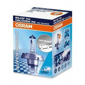 64198 Крушка с нагреваема жичка, фар за дълги светлини от OSRAM качествени части