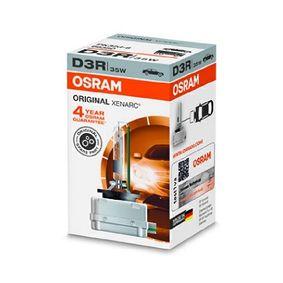 66350 Крушка с нагреваема жичка, фар за дълги светлини от OSRAM качествени части