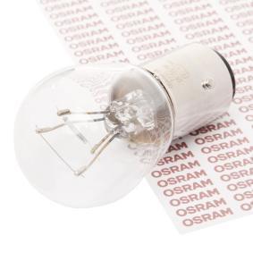 7225 Крушка с нагреваема жичка, стоп светлини / габарити от OSRAM качествени части