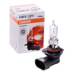 9005 Крушка с нагреваема жичка, фар за дълги светлини от OSRAM качествени части