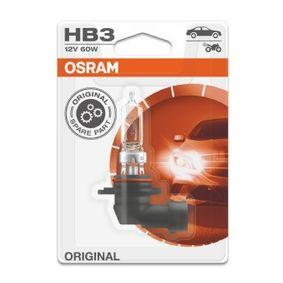 9005-01B Крушка с нагреваема жичка, фар за дълги светлини от OSRAM качествени части