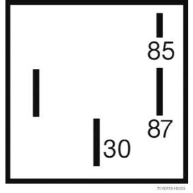 HERTH+BUSS ELPARTS Relais, Kraftstoffpumpe 75613186