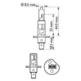 PEUGEOT 307 SW (3H) PHILIPS Lámpara para faros de luz antiniebla 12258 VPB1 comprar