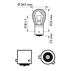AUDI A4 1.9 TDI 130 PS ab Baujahr 11.2000 - Blinkleuchten Glühlampe (12496 NACP) PHILIPS Shop