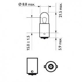 N072601012900 für MERCEDES-BENZ, SMART, Glühlampe, Blinkleuchte PHILIPS (12929CP) Online-Shop
