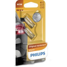 PUNTO (188) PHILIPS Number plate light bulb 12961B2