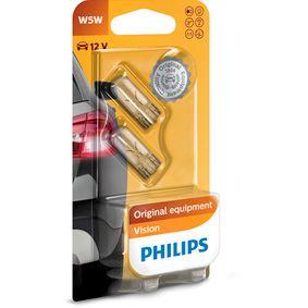 PHILIPS Number plate light bulb 12961B2
