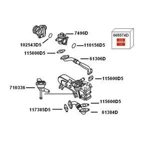 VW TOURAN (1T1, 1T2) WAHLER Unterdrucksteuerventil 710336 bestellen